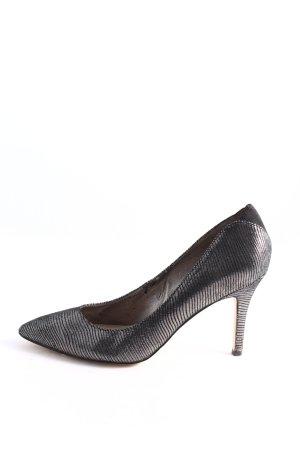 Sam edelman High Heels schwarz-silberfarben Elegant