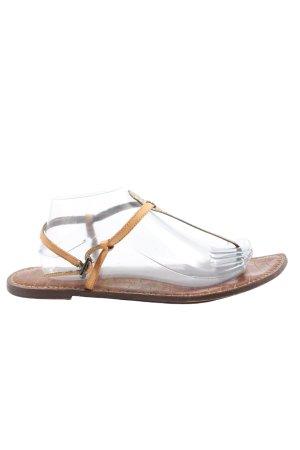 Sam edelman Comfort Sandals brown-cream casual look
