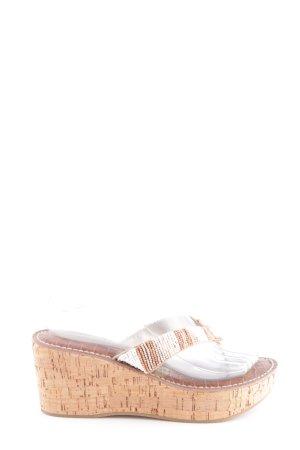 Sam edelman Plateau-Sandalen nude-weiß Casual-Look