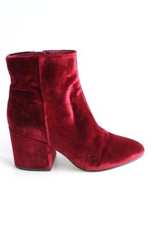 Sam edelman Reißverschluss-Stiefeletten rot Casual-Look