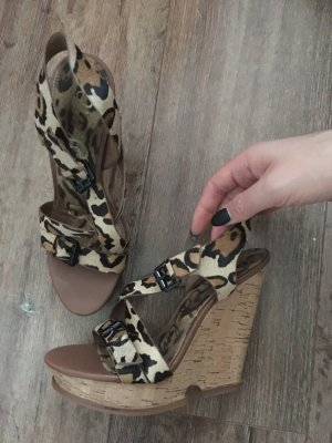 Sam Edelman Wedges 38 Leo Sandalen High Heels neu