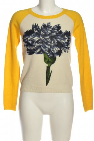 Samantha sung Pullover in cashmere Stampa a tema stile casual