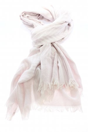 Samaya Shoulder Scarf white-silver-colored striped pattern casual look