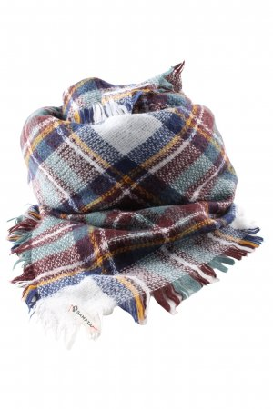Samaya Woolen Scarf check pattern casual look