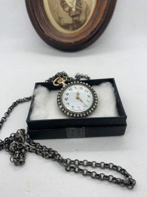 Vintage Orologio analogico argento-oro