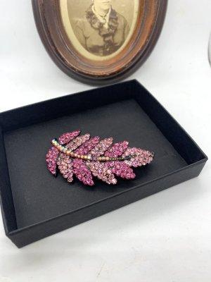 Vintage Brooch pink-pink