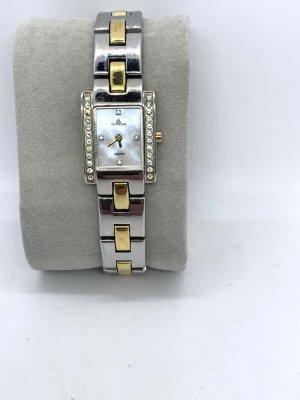 Dugena Analoog horloge zilver-goud