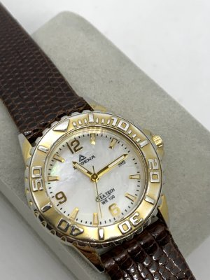 Dugena Analoog horloge bruin-goud