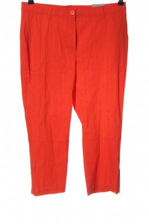 Samoon 3/4 Length Trousers red casual look