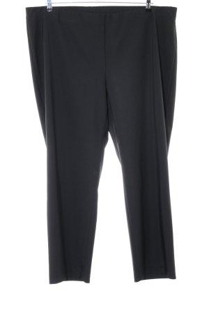 Samoon Pantalon zwart zakelijke stijl