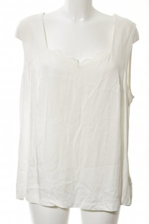 Samoon by Gerry Weber A-Linien Top wollweiß Casual-Look