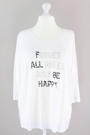 Samoon by Gerry Weber Shirt mit Aufdruck weiß Größe XL 1709180330497