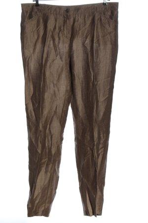 Samoon collection Spodnie materiałowe brązowy W stylu casual