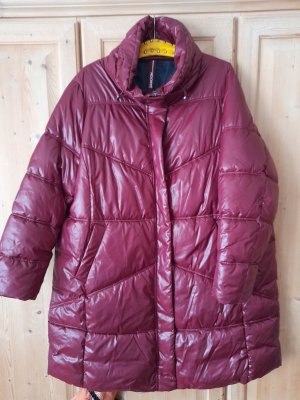 Samoon by Gerry Weber Quilted Coat dark red polyamide