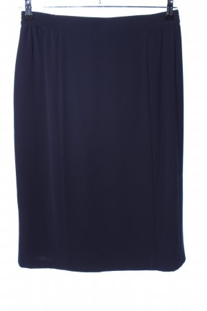 Samoon High Waist Rock blau Casual-Look