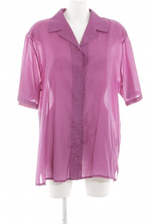 Samoon Langarm-Bluse pink Casual-Look
