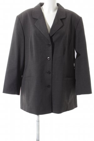 Samoon Long-Blazer anthrazit meliert Business-Look