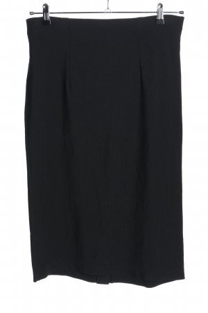 Samoon Stretch Skirt black elegant
