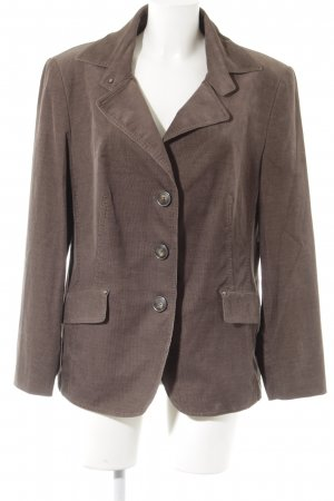 Samoon Tweedblazer braun Business-Look