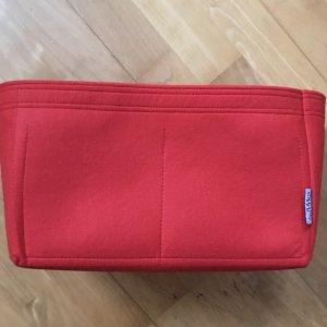 Bolso de tela rojo