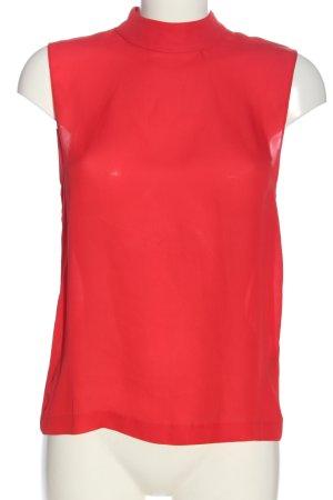 Samsøe & samsøe Blusa senza maniche rosso stile casual