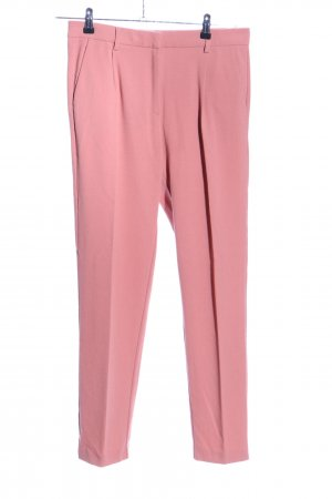 Samsøe & samsøe Bundfaltenhose pink Business-Look