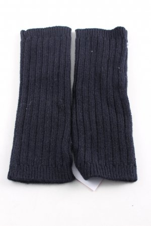 Samsøe & samsøe Handschoenen zonder vingers zwart kabel steek