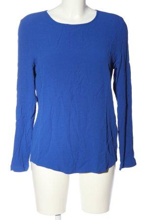 Samsøe & samsøe Hemd-Bluse blau Business-Look