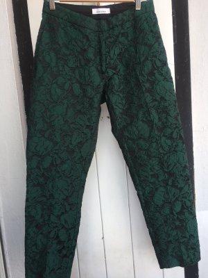 Samsøe & samsøe Pantalone jersey nero-verde bosco