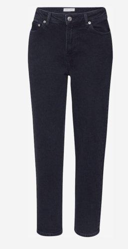 Samsøe & samsøe Jeans a vita alta nero-grigio scuro