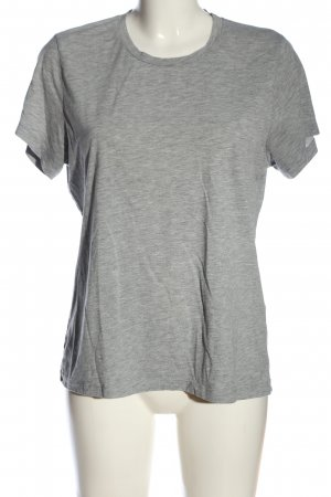 Samsøe & samsøe T-Shirt hellgrau meliert Casual-Look