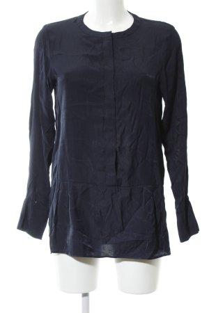 Samsøe & samsøe Langarm-Bluse blau Casual-Look