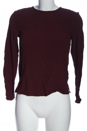 Samsøe & samsøe Langarm-Bluse braun Casual-Look