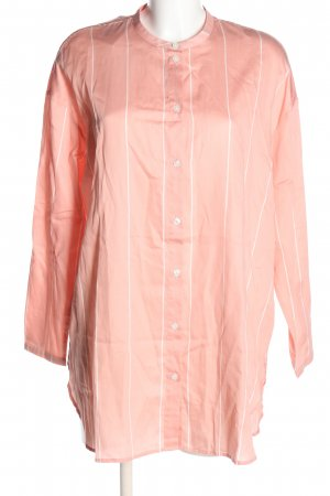 Samsøe & samsøe Long-Bluse pink Streifenmuster Casual-Look