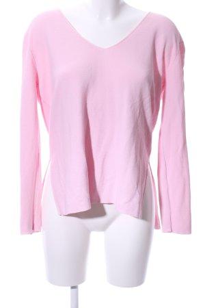 Samsøe & samsøe Oversized Pullover rosa Casual-Look