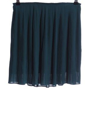 Samsøe & samsøe Pleated Skirt petrol polyester