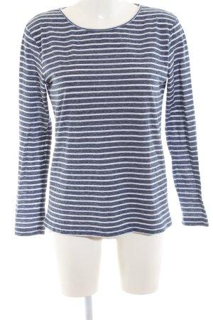 Samsøe & samsøe Stripe Shirt white-blue allover print casual look