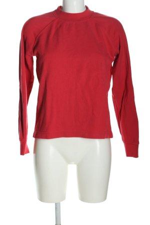 Samsøe & samsøe Camisa acanalada rojo look casual