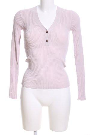 Samsøe & samsøe Ribbed Shirt pink casual look