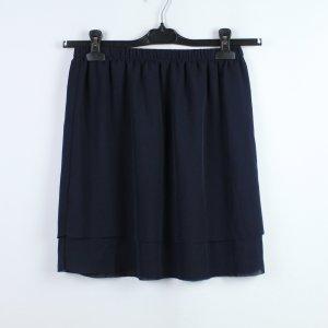 Samsøe & samsøe Flounce Skirt dark blue polyester