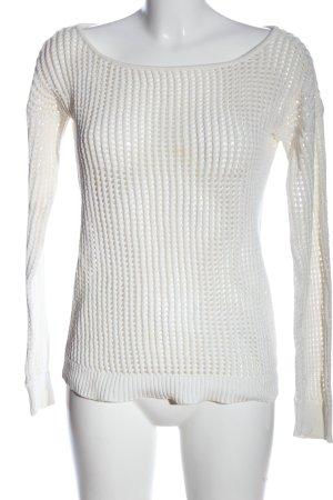 Samsøe & samsøe Maglione girocollo bianco stile casual