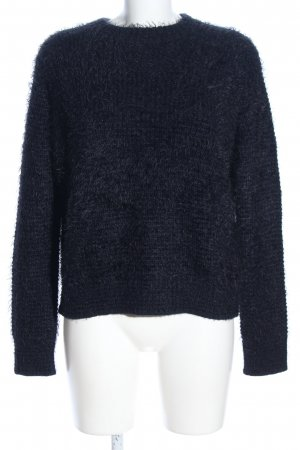 Samsøe & samsøe Rundhalspullover blau Casual-Look