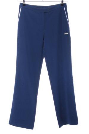 Samsøe & samsøe Jersey Pants dark blue-white casual look