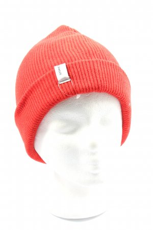 Samsøe & samsøe Chapeau en tricot rouge style décontracté