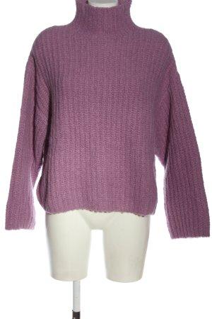Samsøe & samsøe Maglione lavorato a maglia lilla stile casual