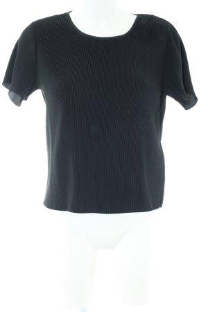 Samsøe & samsøe T-Shirt schwarz Casual-Look