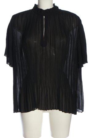 Samsøe & samsøe Transparenz-Bluse schwarz Casual-Look