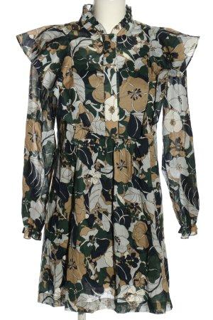 Samsøe & samsøe Robe à volants motif de fleur style décontracté
