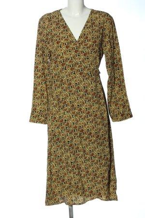 Samsøe & samsøe Vestido cruzado estampado con diseño abstracto look casual