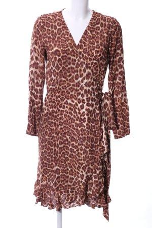 Samsøe & samsøe Robe portefeuille motif léopard imprimé animal